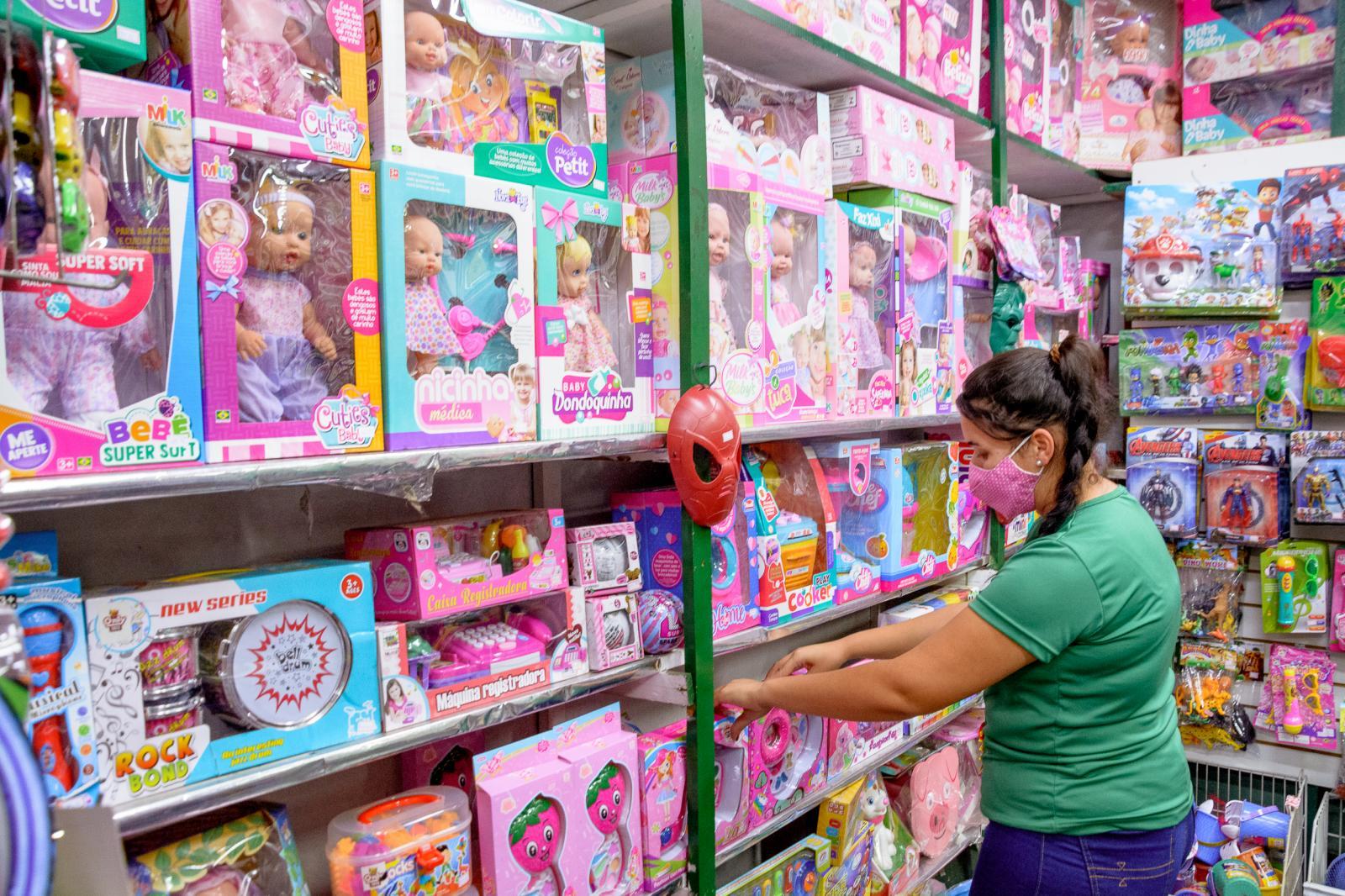 Comerciantes itatibenses estão otimistas com as vendas do Dia das Crianças
