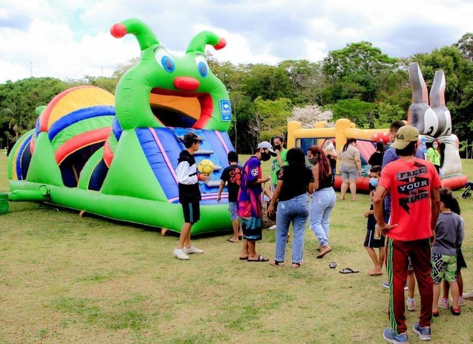 Comemoração pelo Dia das Crianças é realizado no Parque Luis Latorre