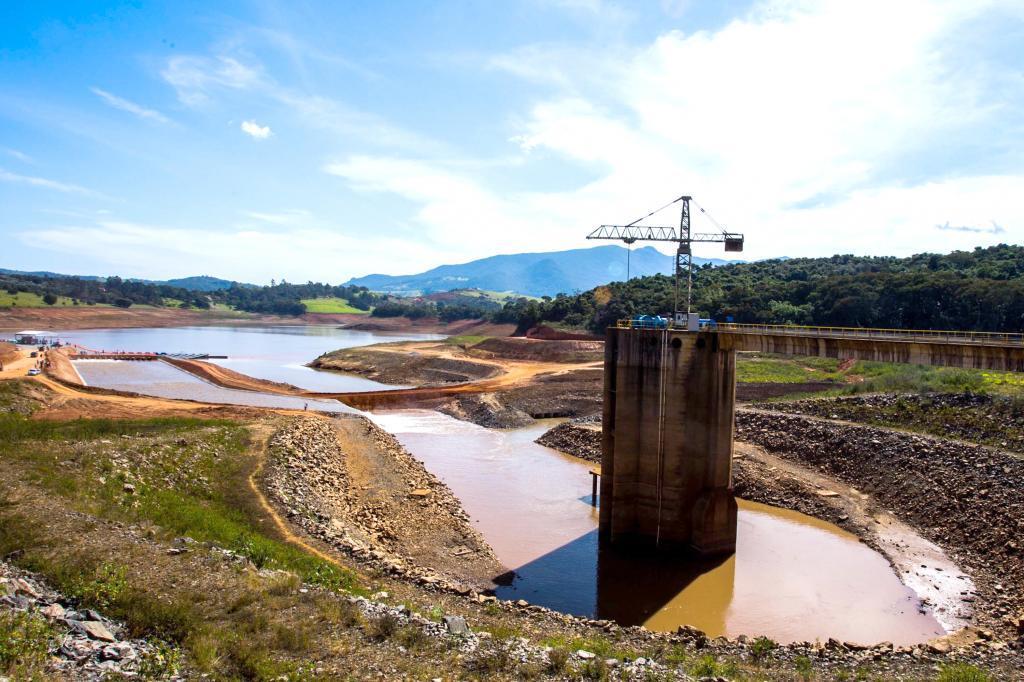 Sistema Cantareira irá receber reforço da Bacia Paraíba do Sul